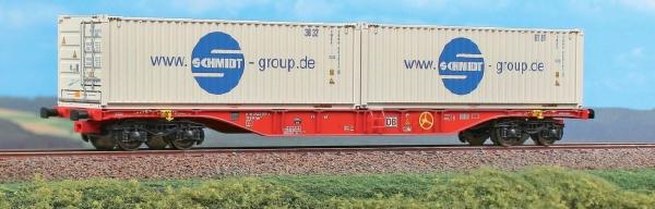 40409 ACME Containerwagen Typ Sgnss 60 Intermodal DB AG mit zwei Container beladen