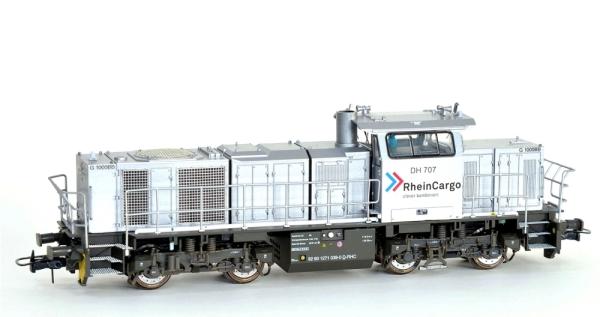 90236 Diesellok Vossloh G1000 BB Rheincargo  DC ANALOG