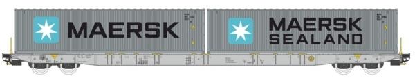 PI 96010044 Igra Model  / Pi.R.A.T.A.  Sggnss 80 Containertragwagen der Metrans