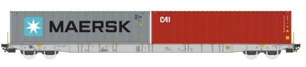 PI 96010045 Igra Model  / Pi.R.A.T.A.  Sggnss 80 Containertragwagen der Metrans