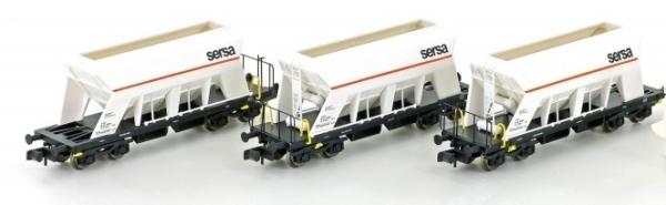 LC66306.1 Jägerndorfer   Spur N  3er Set Selbstentladewagen der SERSA  Top Deals