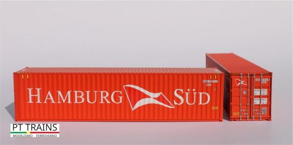 840007.3 PT Trains Spur H0 Container 40ft HC HAMBURG SÜD